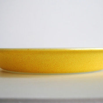 "PYREX Desert Dawn Yellow 209 Wide Rim 8 1/2"" Pie Plate - #500.20"