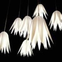 Hanging Flower Light Shade