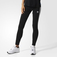 adidas 3-Stripes Leggings - Black | adidas US