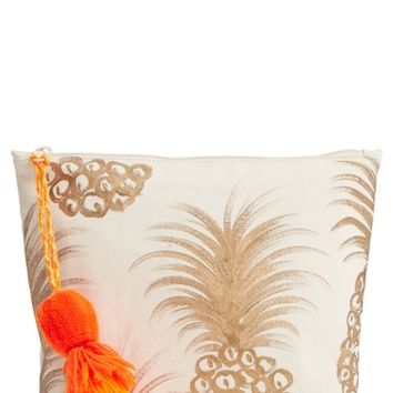 Shiraleah Tropicana Tassel Cosmetic Pouch | Nordstrom