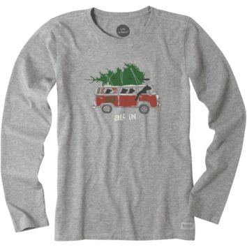 Women's All In Van Long Sleeve Crusher Tee