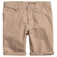 H&M Twill Shorts Regular fit $17.99