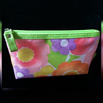 Clinique Small Spring Floral Cosmetic Bag