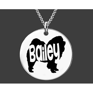 Chow Chow Necklace | Personalized Dog Necklace
