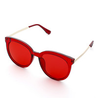 Exaggerated Frame & Lens Sunglasses -SheIn(Sheinside)