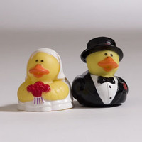 Bride and Groom Rubber Ducks | Century Novelty