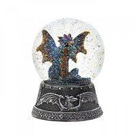 Blue Dragon Water Globe