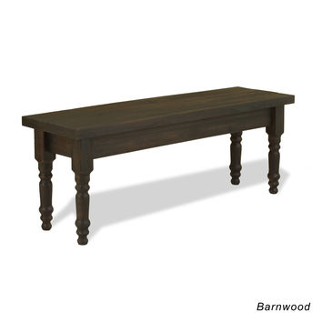 Valerie Solid Wood Bench