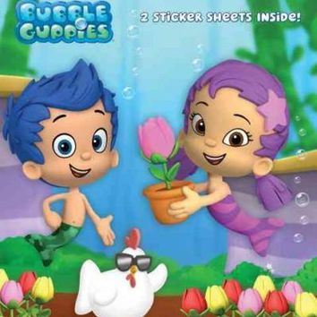 The Spring Chicken! (Bubble Guppies. Step into Reading)