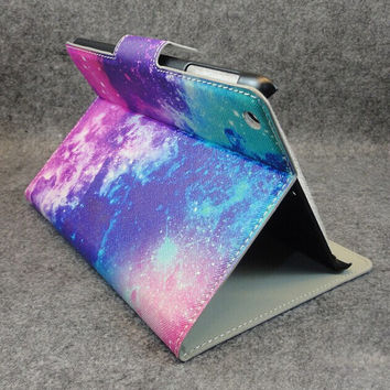 Galaxy Leather  iPad 2/3/4 mini creative case