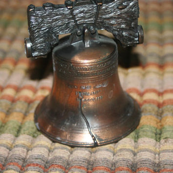 Cast Iron Liberty Bell,Vintage Home Decor