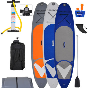 """Vilano Navigator 10' (6"""" Thick) Inflatable SUP  Package"""