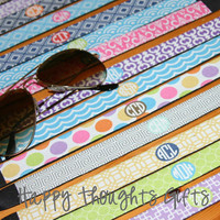 Personalized Glasses Strap - Choose Your Design and Colors