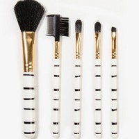 Striped Brush Set