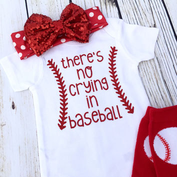 {There's No Crying In Baseball}