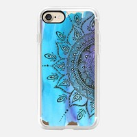Blue  iPhone 7 Capa by Li Zamperini Art | Casetify