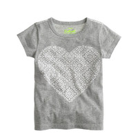 crewcuts Girls Damask Heart Tee