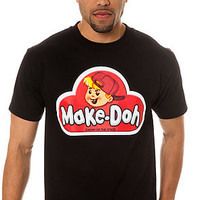 Enemy of the State  The Make Doh Tee in Black