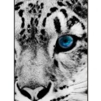 SPRAWL Original New Print Hard Skin Case Cover Shell for mobilephone Apple Iphone 4 4S, Interesting Fashion Design with Tiger - blue eye