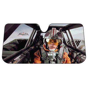 Star Wars Snowspeeder Accordion Sunshade - PlastiColor - Star Wars - Car Accessories at Entertainment Earth