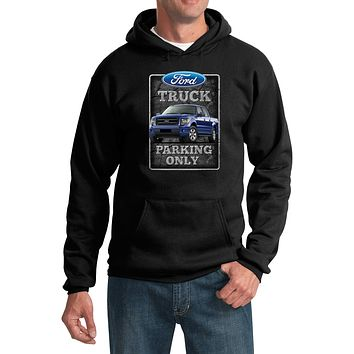 Ford Truck Parking Sign Hoodie