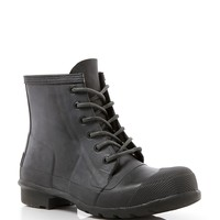 Hunter Rain Booties - Original Lace Up
