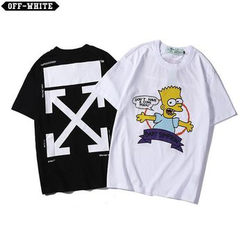 DCCK2 1356 Off White Bapt Simpson Loose T-Shirt