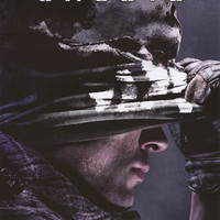 Call of Duty Ghosts Soldier Video Game Poster 22x34