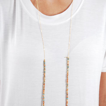 The Betsy Necklace - Orange
