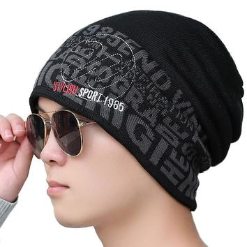 Men Knitted Beanie Hats
