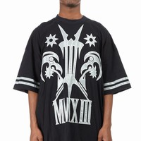 KTZ REFLECTED TATTOO PATCHED T-SHIRT - MEN - SALE - KTZ - OPENING CEREMONY