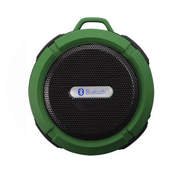 New C6 Portable Wireless Bluetooth Speaker With Calls Handsfree and Suction Cup Waterproof Bluetooth Shower Speaker.