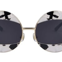 Vintage Retro Round Circle Frame Sunglasses Fashion Sun Glasses