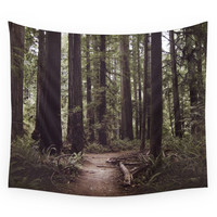 Society6 Redwood Forest Wall Tapestry
