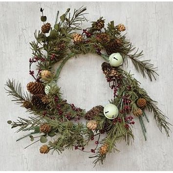 Rustic Bell Pine Ring