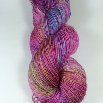 MCN, Pampered Sock, 100 grams, Color, Story Book, Hand Dyed yarn, cashmere, nylon, superwash merino, sock yarn