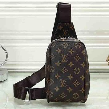 Louis Vuitton LV Women Men Fashion Leather Crossbody Bag