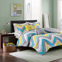 Intelligent Design Ariel 5-Piece Comforter Set | Overstock.com Shopping - The Best Deals on Teen Comforter Sets