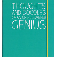 Thoughts and Doodles Notebook