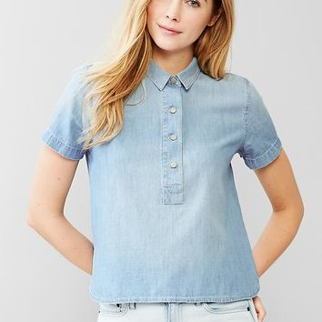 Gap Women 1969 Denim Popover