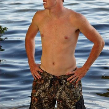 Mossy Oak Break-Up® Cargo Board Shorts