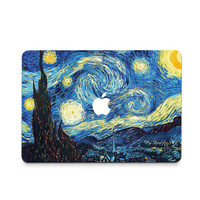Starry Night Decal Skin Set for the Apple MacBook Air Pro