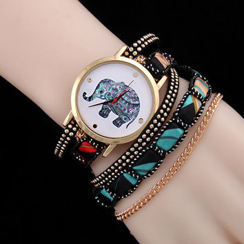 Gift New Arrival Shiny Awesome Hot Sale Great Deal Fashion Stylish Rivet Necklace Ladies Watch Bracelet [6586423111]