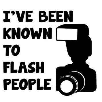 Assorted Funny Photographer Photography Related Decal Stickers