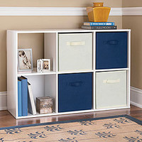 View System Build™ 6-Cube Cubby White Stipple Deals at Big Lots
