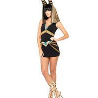 Egyptian Anubis Adult Womens Costume – Spirit Halloween