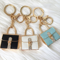 Fancy Tote Keychain - 3 Colors