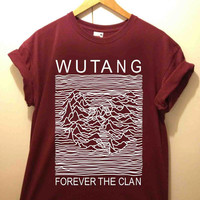 Wu Tang Clan, parody joy division tshirt for merry christmas and helloween