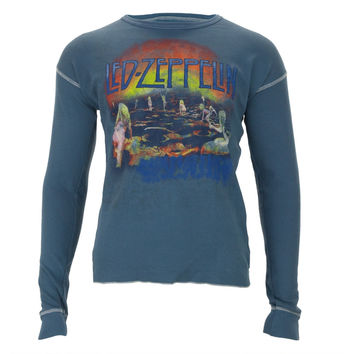 Led Zeppelin - Houses Premium Long Sleeve Thermal