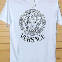 versace sweater inspired medusa DTG Printed shirt for T shirt Mens and T shirt Woman Size S, M, L, XL and XXL